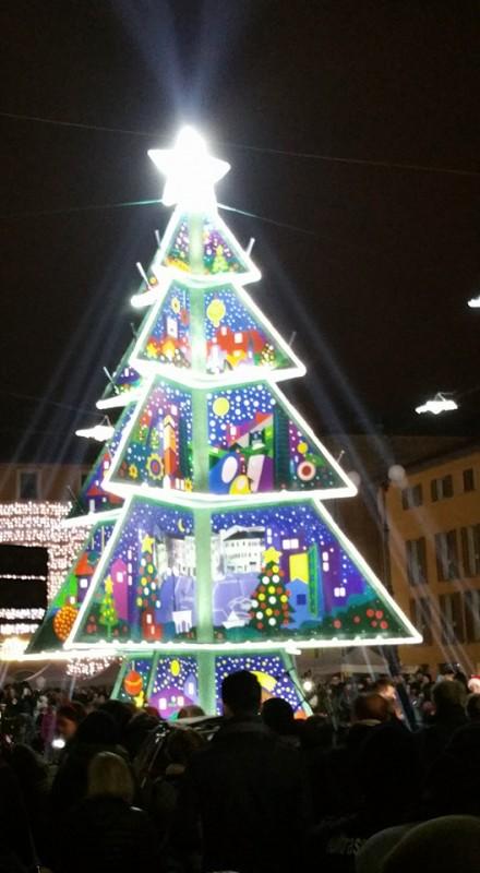 Accensione dell'Albero di Natale di Fano