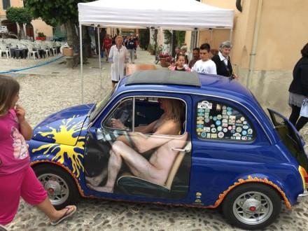 Raduno Fiat 500 Isola D' Elda Marciano Marina